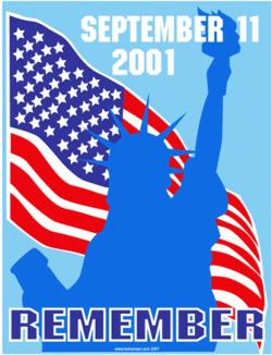 USA clipart patriot day
