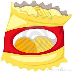 Chips clipart cartoon