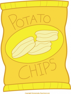 Chips clipart bag chip