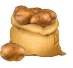 Potato clipart sack potato