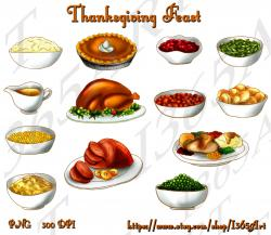 Cranberry Relish clipart thanksgiving stuffing