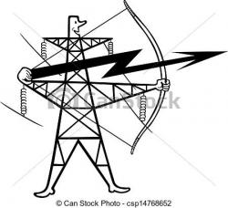 Power Line clipart