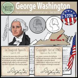 Us History clipart george washington