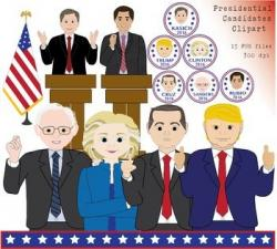 Presidents clipart candidate