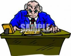 Presidents clipart desk