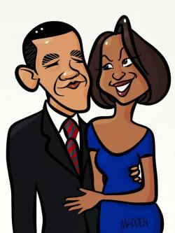 Celebrity clipart barack obama