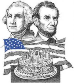 Presidents clipart lincoln's birthday