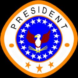Presidents clipart logo