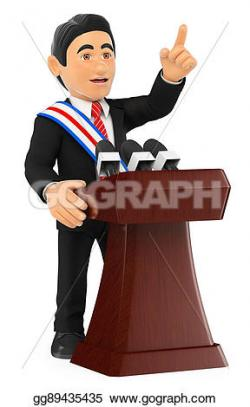 Presidents clipart politician speech