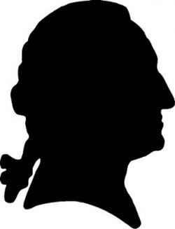 Presidents clipart silhouette