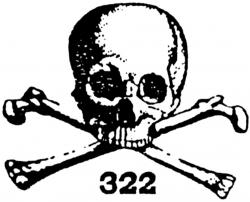 Presidents clipart skull and bone