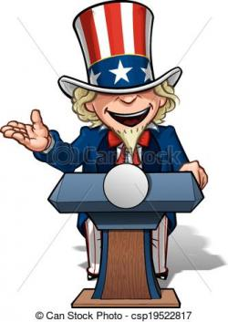 Uncle Sam clipart presidential