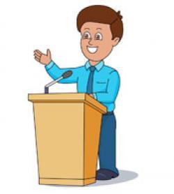 Presidents clipart student speech