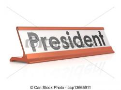 Presidents clipart the word