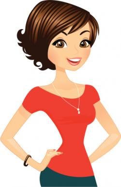 Hair clipart pretty lady
