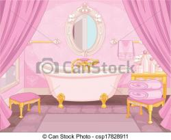 Princess clipart bathroom
