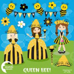 Princess clipart bee
