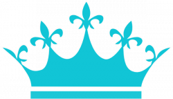 Crown clipart turquoise