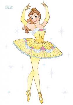 Ballet clipart princess ballerina