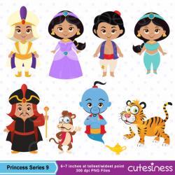 Jasmine clipart little princess