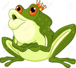 Kisses clipart frog prince