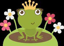 Princess clipart frog