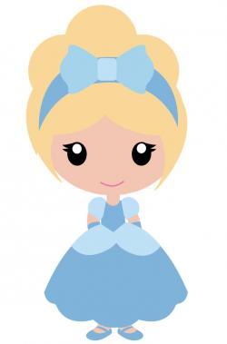 Princess clipart kawaii