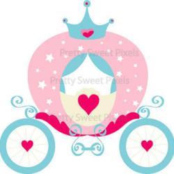 Princess clipart princess carriage