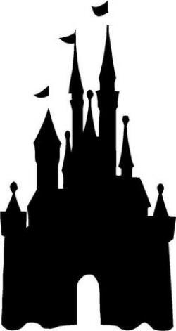 Disneyland clipart silhouette