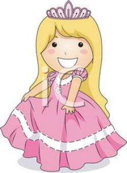 Princess clipart smiling