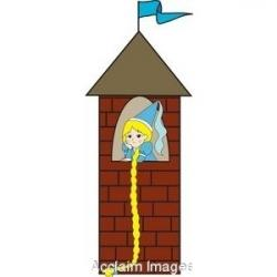 Princess clipart tower