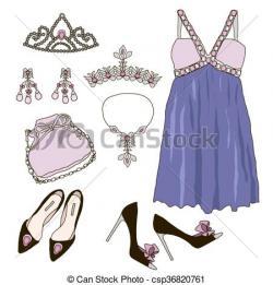 Princess clipart wardrobe