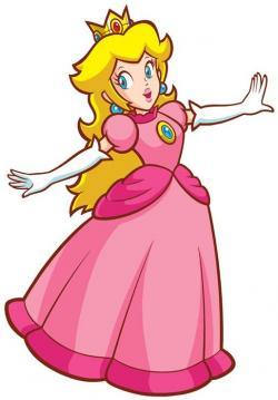 Princess Peach clipart