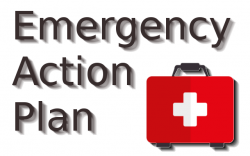 Disaster clipart emergency action plan