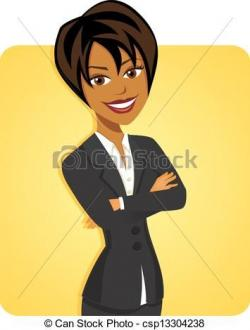 Professional clipart career woman