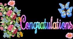 Glitter clipart congratulation