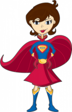 Mommy clipart super mom