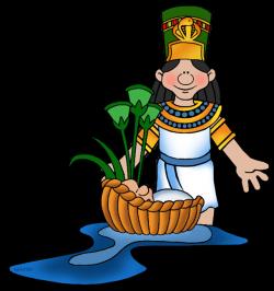 Egyptian clipart pharaoh moses