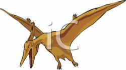 Dinosaur clipart pteranodon
