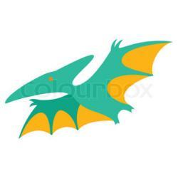 Pteranodon clipart cartoon
