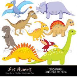 Brachiosaurus clipart tyrannosaurus