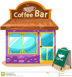 Shop clipart cafe building