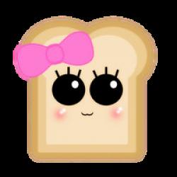 Toast clipart kawaii