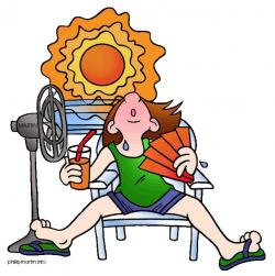 See clipart hot summer season