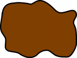 Puddle clipart mud