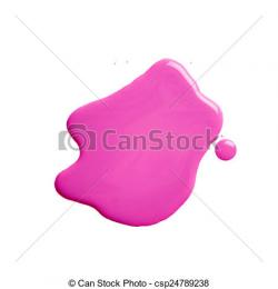Puddle clipart paint spill