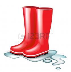 Boots clipart wet