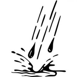 Puddle clipart rainwater