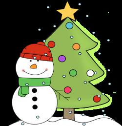Snowman clipart xmas