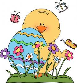 Bluebird clipart spring chick